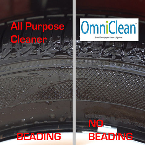 OmniClean Tire Cleaner VS All Purpose Cleaner