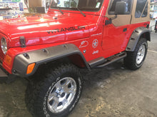 Load image into Gallery viewer, Jeep Plastic trim restored gloss finish