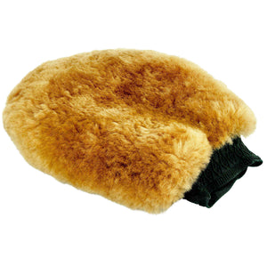Mad for Detailing Sheepskin Wash Mitt Bug Scrub Back Extra Soft Thick Plush Lambswool