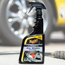 Load image into Gallery viewer, Meguiars Ultimate Wheel Cleaner On Wheels iron & brake dust remover