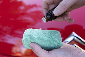 Mad for Detailing M10 Ceramic Coating being applied to microfiber applicator