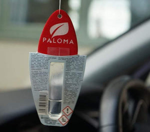 Paloma Car Air Freshener 5ml  New Car  hanging in car  back