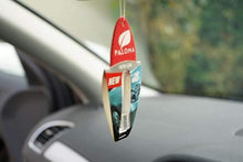 Load image into Gallery viewer, Paloma Car Air Freshener 5ml  New Car  hanging in car  Wide