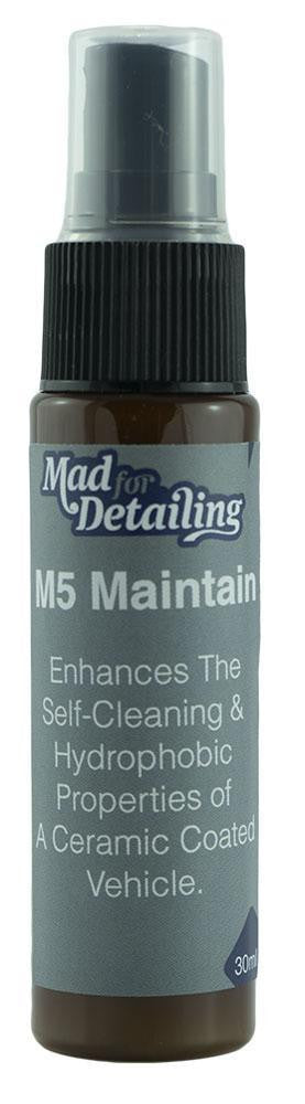 Mad for Detailing M5 Maintain Ceramic Coating Booster 30ml