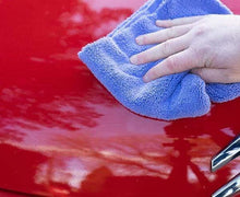 Load image into Gallery viewer, Mad for Detailing; Perfect Essential Microfiber Polish Remover Towel Remove ceramic coating from red car