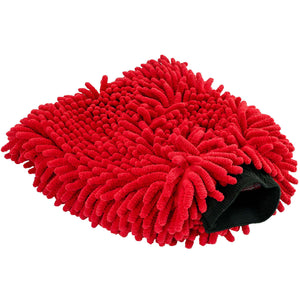 Mad for Detailing Ultra Soft Extra Thick Non Scratch Red Noodle Microfiber Wash Mitt 4