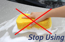 Load image into Gallery viewer, Mad for Detailing Premium Ultra Soft Extra Thick Microfiber Wash Pad & Car Washing Sponge