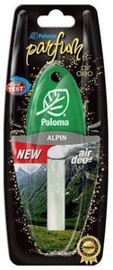 Paloma Car Air Freshener 5ml Alpine Scent
