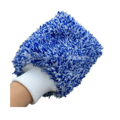 Mad for Detailing Ultra Soft Microfiber Wash Mitt Non Scratch Cleaning & Washing Sponge