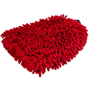 Mad for Detailing Ultra Soft Extra Thick Non Scratch Red Noodle Microfiber Wash Mitt 6