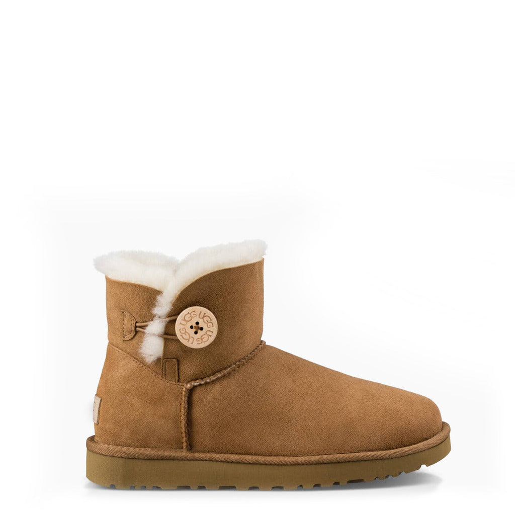 UGG - MINI_BAILEY_BUTTON_ - Women's Ankle Boots