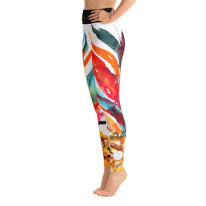 PinaColada - Colourful Yoga Leggings - Sentry Soul