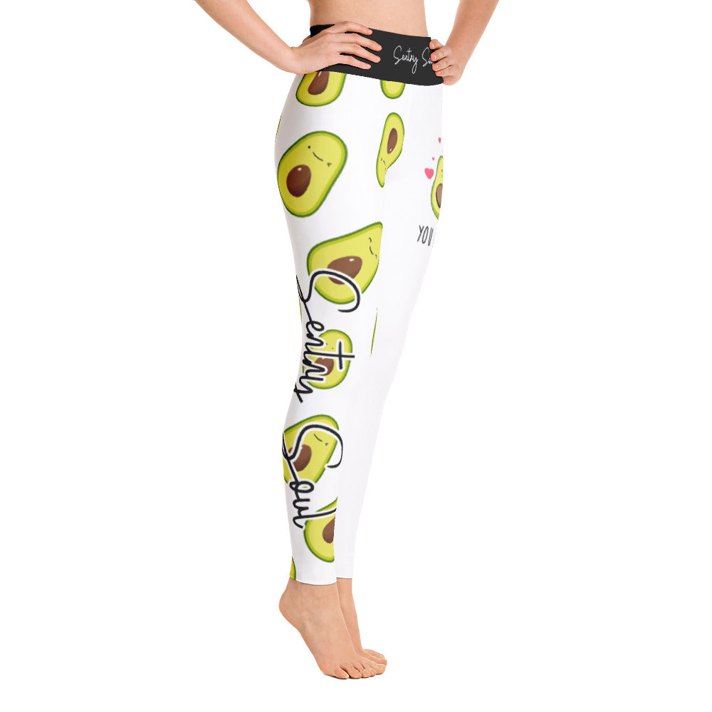 i HEART avocado's | Yoga Leggings - Sentry Soul