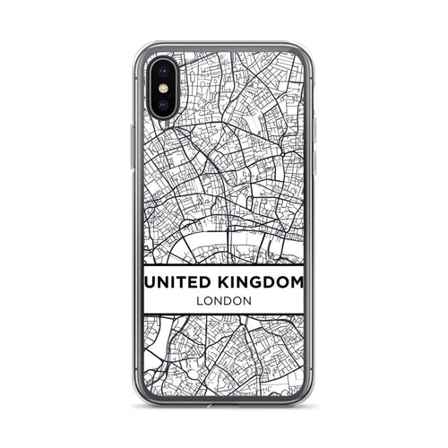 The London Look | Map | iPhone Case - Sentry Soul
