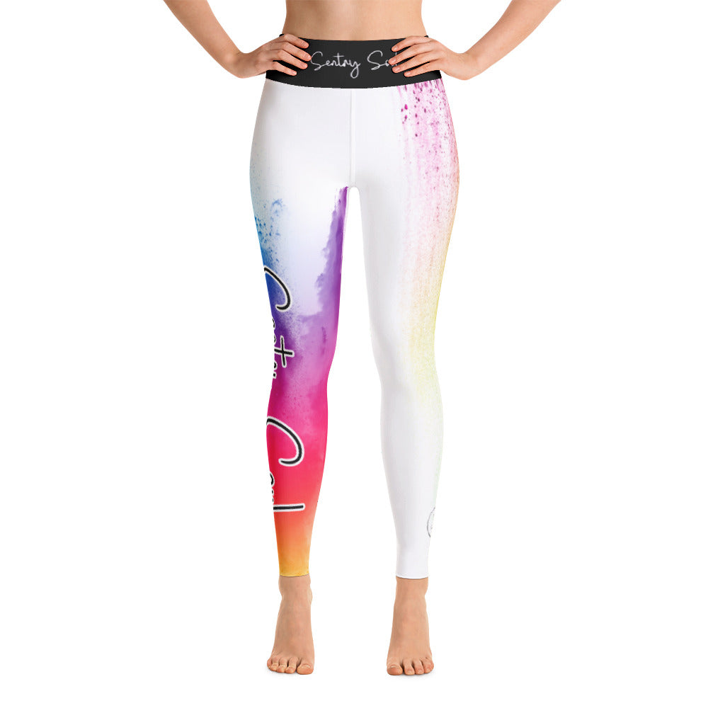 Color Splash - Yoga Leggings - Sentry Soul
