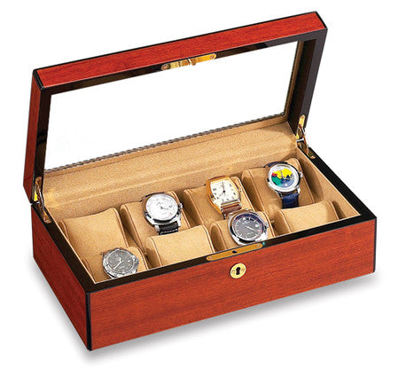 SOLD OUT 8 Watch Display Case Rosewood SOLD OUT