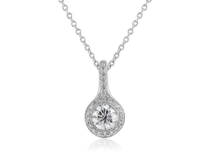 .49 Carat Diamond Pendant - Jewelry Boston