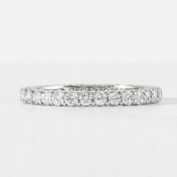 Platinum Eternity Band - Boston