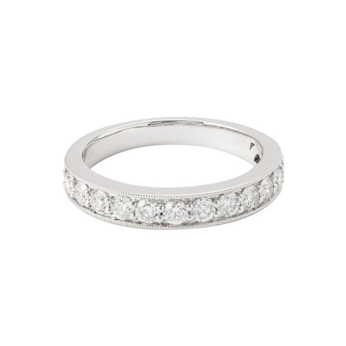 1.00ct Diamond Channel Set Band (White Gold) - JEWELRY Boston