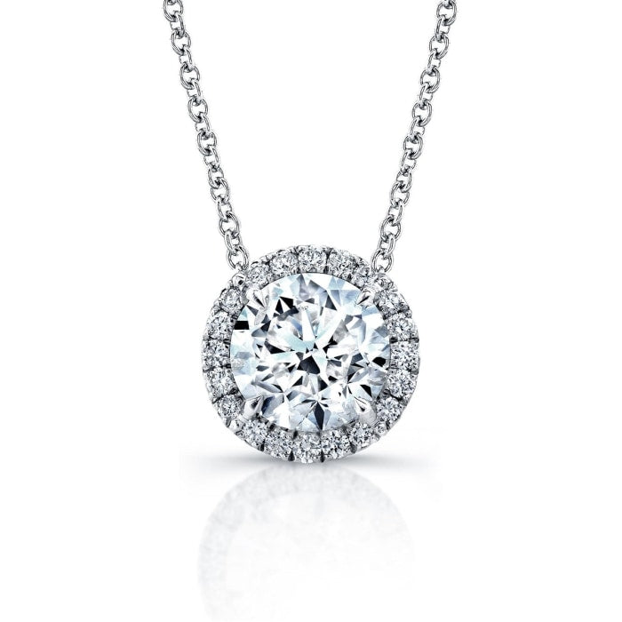 101 carat round diamond pendant necklace 18k white gold 101 carat round diamond pendant necklace 18k white gold jewelry boston aloadofball Image collections