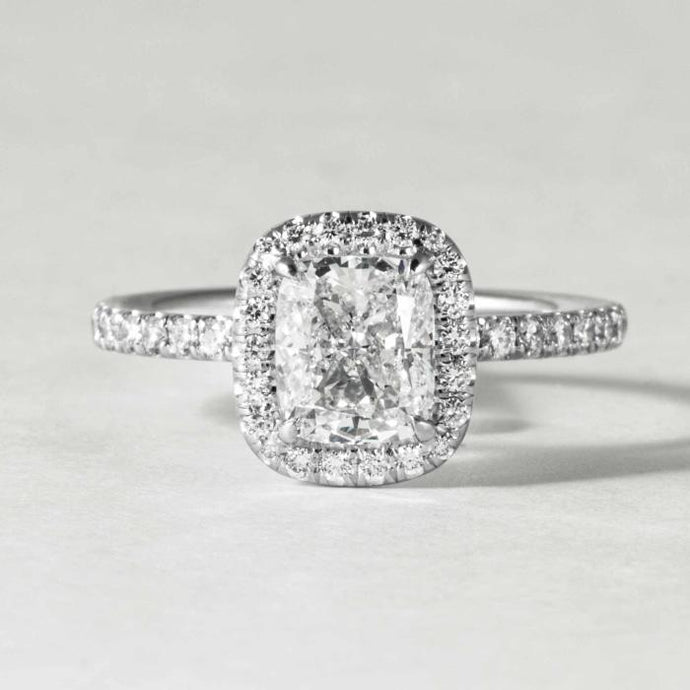 1.21ct Cushion Diamond Ring (white Gold) - Boston