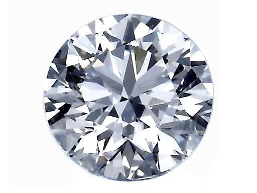 Loose GIA Certified 1.29cts. F/SI1 Round Brilliant Cut Diamond - Boston