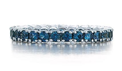1.35ctw Sapphire Eternity Band - Boston