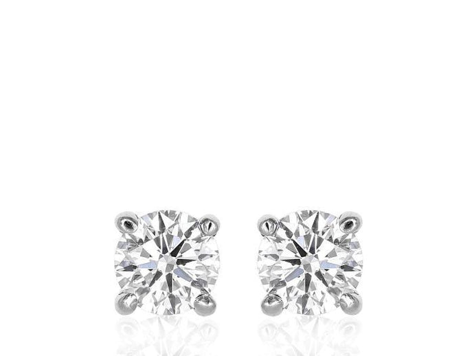 1.80ctw GIA Diamond Stud Earrings - Boston
