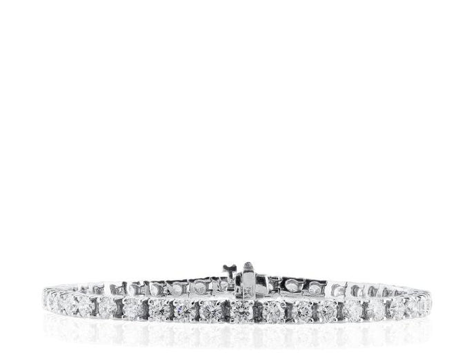11.44ct Diamond Tennis Bracelet - Boston