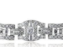 Load image into Gallery viewer, 12.00 Carat Art Deco Diamond Bracelet (Platinum) - Jewelry Boston
