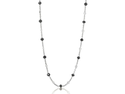 15.05 Carat Diamond By The Yard Necklace - Jewelry Boston