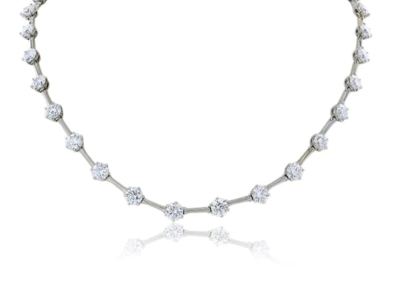 15.21 Carats Diamond Necklace - Jewelry Boston