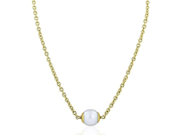 16Mm South Sea Pearl Pendant Necklace (18K Yellow Gold) - Jewelry Boston