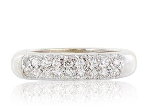 18Kt Diamond Estate Band - Jewelry Boston