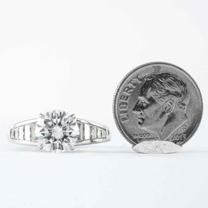 GIA G VS1 2.05 ct Round Brilliant Cut Diamond - ENGAGEMENT Boston