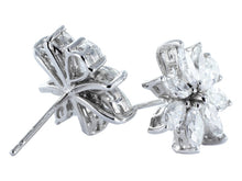 Load image into Gallery viewer, 3.50ctw Fancy Shaped Diamond Earrings (Platinum) - JEWELRY Boston