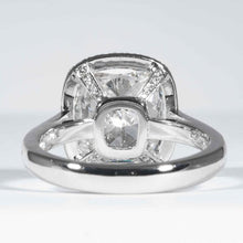 Load image into Gallery viewer, GIA 4.01ct I/VVS2 Cushion Cut Diamond Ring - ENGAGEMENT Boston