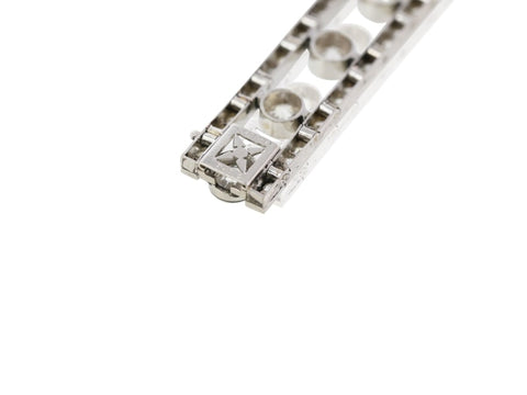 5.20 Carat Marchak Art Deco Diamond Bracelet - Jewelry Boston