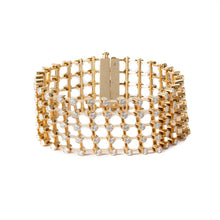 Load image into Gallery viewer, 5.89ctw Gumuchian Diamond Flexible Bracelet (Yellow Gold) - Jewelry Designers Boston