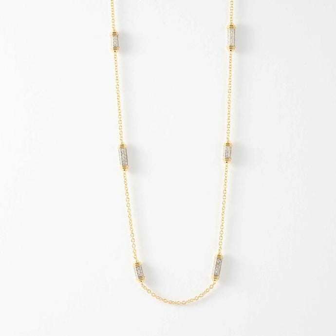 18KTT Picchiotti 5.90CTW Necklace - Boston