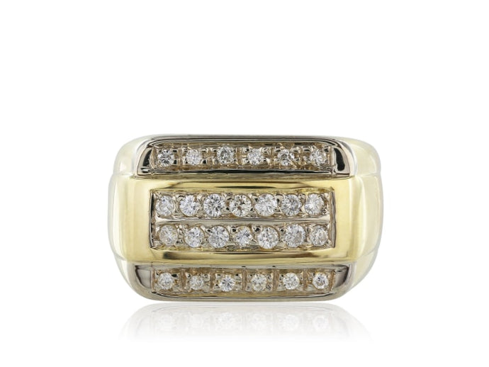 .55 Carat Diamond Gents Diamond Ring - Jewelry Boston