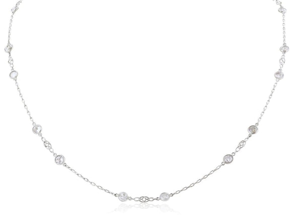 7.00 Carat Diamonds By The Yard Necklace (Platinum) - Jewelry Boston
