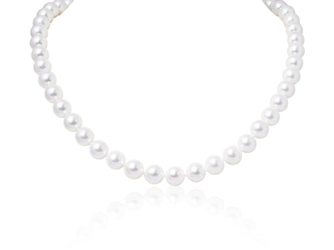 7mm Cultured Pearl Necklace - JEWELRY Boston