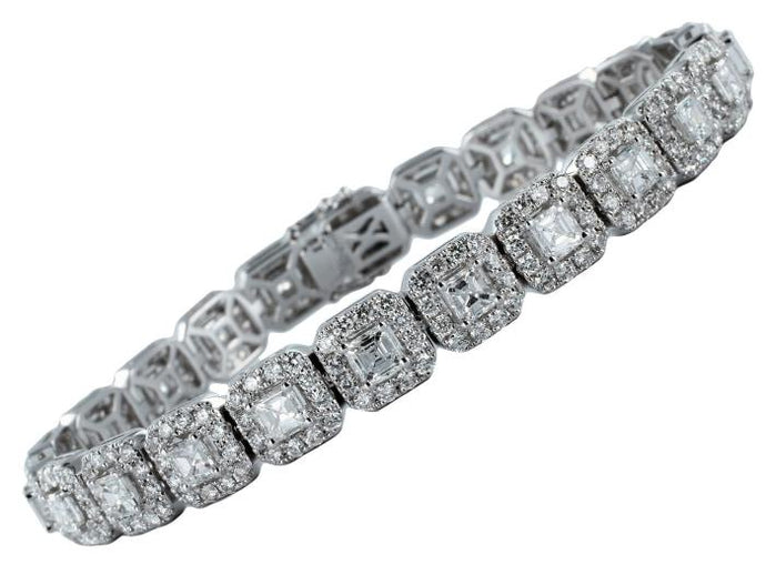 8.92 Carat Diamond Bracelet - Jewelry Boston