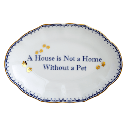 A House Is Not A Home Ring Tray - Boston