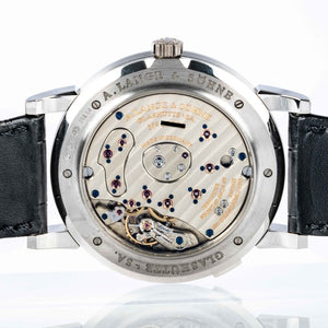 A. Lange & Söhne Grand Lange 1 Platinum 41.9mm (115.026) - Boston