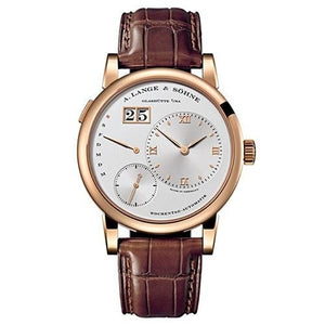 A. Lange & Sohne Lange 1 Daymatic 18K Rose Gold (320.032) - Watches Boston