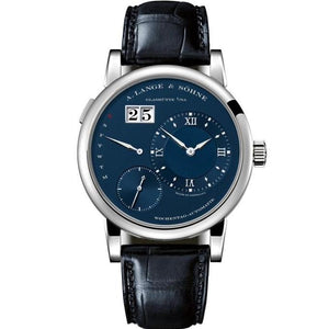 A. Lange & Sohne Lange 1 Daymatic White Gold (320.028) - Watches Boston