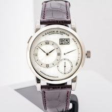 Load image into Gallery viewer, A. Lange & Sohne Lange 1 Mother of Pearl Guilloche Dial White Gold 38.5mm (110.030) - Boston