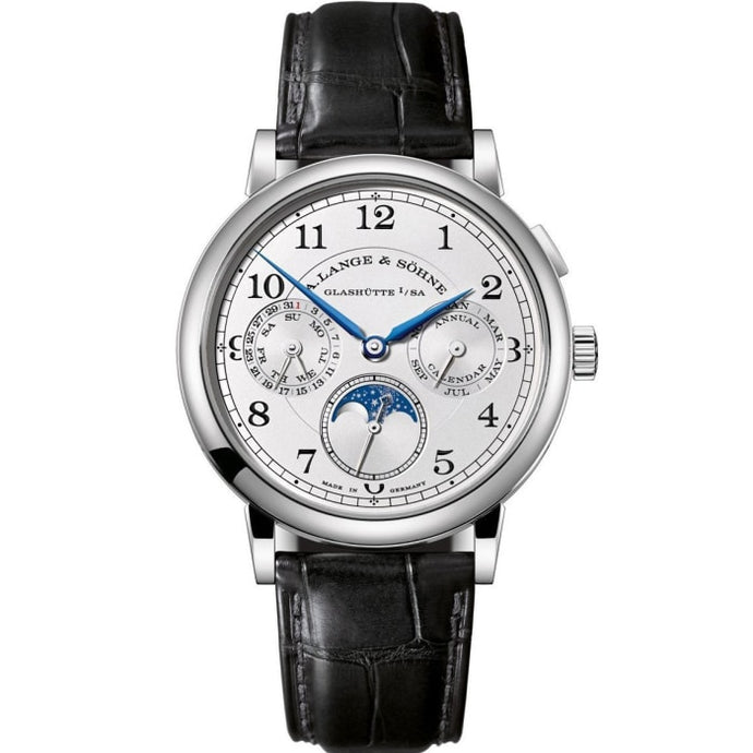 A. Lange & Sohne 1815 Annual Calendar 18K White Gold (238.026) - Watches Boston